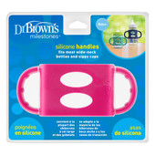 Dr Brown's Wide Silicone Handle - PINK