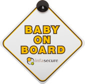 InfaSecure Baby On Board Sign