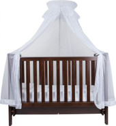 InfaSecure Cot Halo Stand And Net White