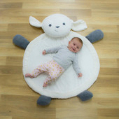 Childcare Animal Plush Mat Lamb