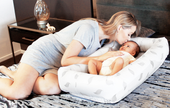 Babyhood Organic Breathe Eze Cosy Crib at Baby Barn Discounts The Breathe Eze firm fibre construction provides your baby with a secure, safe and allergy resistant environment to cuddle and sleep.