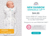 Swaddle Up Original by Love to Dream - Rainbow Edition