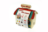 Kaper Kidz Wooden Grocery Store with Carry House
