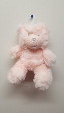 Cotton Candy Plush Bear Rattle - PINK