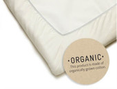 Baby Bjorn Travel Cot Organic Cotton Fitted Sheet