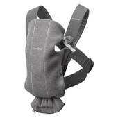 Baby Bjorn Carrier Mini 3D Jersey - DARK GREY