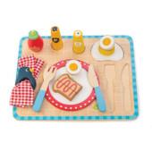 Tender Leaf Toys Wooden Breakfast Tray Set