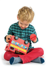 Tender Leaf Toys London Bus Mony Box