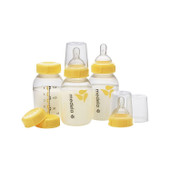 Medela Breastmilk Bottle 150ml with Wide Base Teat 3 Pack