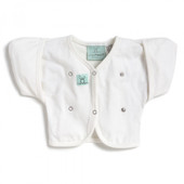 Ergopouch Butterfly Cardi 2-6months - WHITE