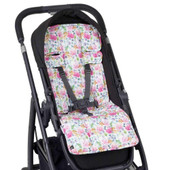 Outlook Artist Edition Cotton Pram Liner - FLORAL DELIGHTS Outlook liner will add a touch of luxury to your pram by providing extra cushioning for your baby.