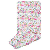 Outlook Cotton Pram Liner with Floral Pattern