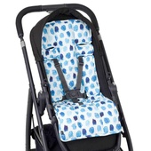 Outlook Artist Edition Cotton Pram Liner - INDIGO RAIN