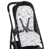 Outlook Artist Edition Cotton Pram Liner Australian Eucalypt Outlook liner will add a touch of luxury to your pram by providing extra cushioning for your baby.