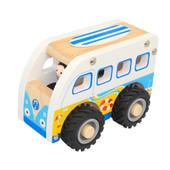 Toys Link Wooden Truck - KOMBI