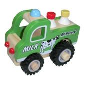 Toys Link Wooden Truck - MILK TRUCK
