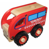 Toys Link Wooden Truck - POST TRUCK