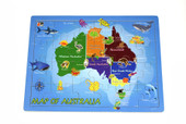 Koala Dream 2 in 1 Australian Map Jigsaw Puzzle