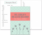 Book to record clear and concise medical history