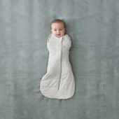 Ergopouch Cocoon Swaddle Bag 2.5 Tog 0-3 Months Grey Marle at Baby Barn Discounts