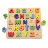 Viga Raised Block Puzzle Uppercase Alphabets