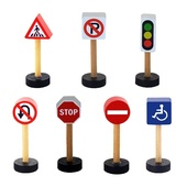 Viga Train Set Traffic Sign