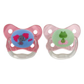 Dr Brown's Prevent Contoured Pacifier 6-12m 2pk at Baby Barn Discounts