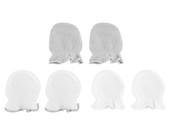 Playette Newborn Essential Mittens 3pk Grey/White at Baby Barn Discounts