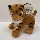 Nature Babies Brown Soft Tiger 12 inch