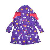 Korango Raincoat 3 Years - VIOLET RAINBOW