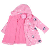 Korango Raincoat 3 Years Polar Fleece Lined at Baby Barn Discounts Fleece lined with a removeable hood and a waterproof outer shell this raincoat is a lovely addition to any wardrobe.