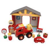 ToysLink Auto Service Set Display at Baby Barn Discounts This little Auto Service Set is great for your Child's Imagination and learning all the basics of an Automotive garage.