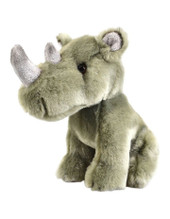 Korimco Lil Friends Plush Toy 18cm - RHINO