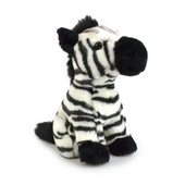 Korimco Lil Friends Plush Toy 18cm - ZEBRA