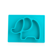 Nuby Animal Placemat - TEAL ELEPHANT