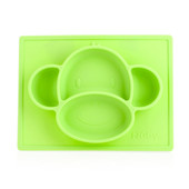 Nuby Animal Placemat - GREEN MONKEY