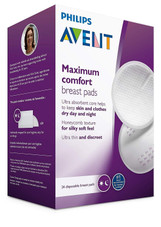 Avent Disposable Day & Night Breast Pads 24pk