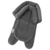 Playette 2 in 1 Head Support Pillow - CHARCOAL at Baby Barn Discounts Plush padding provides extra support for sleeping baby's head and neck
