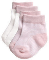 Playette Preemie Fashion Socks 2pk - PINK at Baby Barn Discounts Fashion Cotton Blend Socks with embossed 'grip' outsole.