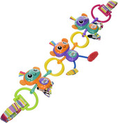 Lamaze Monkey Links at Baby Barn Discounts Lamaze's funny little monkeys are great to place across a car seat or stroller when you are on-the-go.