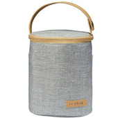 JJ Cole Insulated Bottle Cooler at Baby Barn Discounts - HEATHER GRAY