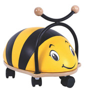Bubbadoo Ride On Bee at Baby Barn Discounts The Bubbadoo Castor Ride On is  bright and soft design castor ride on will provide hours of endless fun zooming around the floor.