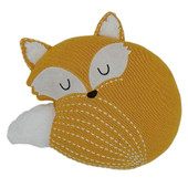 Lolli Living Knitted Decorative Character Cushion Fox at Baby Barn Discounts Add the perfect finishing touch with our super sweet cotton knot fox decorative cushion.