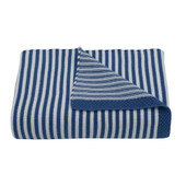 Living Textiles Knitted Stripe Baby Blanket at Baby Barn Discounts Versatile and light weight, this gorgeous 100% cotton pearl knit blanket features a classic contrasting stripe.