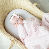 Living Textiles Lattice Cotton Baby Blanket at Baby Barn Discounts