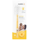 Medela Quick Clean Bottle Brush offers thorough, gentle cleaning, for peace of mind when washing your bottles, teats, and pumping equipment.