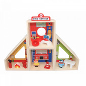 Toyslink Fire Station Playset at Baby Barn Discounts This wonderful fire station play set allows children to play pretend as firefighters.