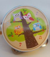 Toys Link Forest Friends Tambourine at Baby Barn Discounts Beautifully made non-toxic toddler tambourine from Toys Link.
