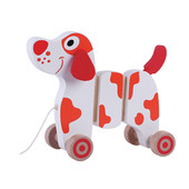 Toyslink Walk Along Dog at Baby Barn Discounts A classic pull-along wooden dog that your child will for years to come.