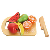 Toyslink Fruit Cutting Set at Baby Barn Discounts  This colourful wooden and velcro fruit set is perfect for your little chef!